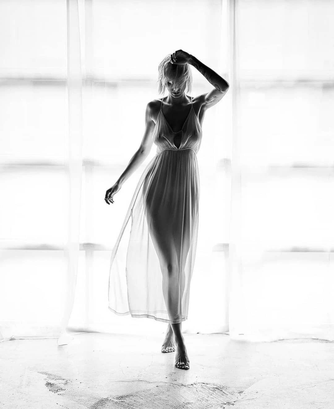 优雅的黑白人体摄影,极致的美感插图(9)